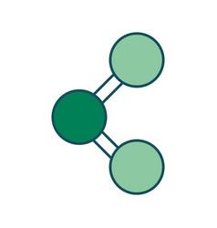 share symbol icon vector image vector image