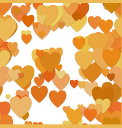 Seamless heart background pattern - graphic from vector