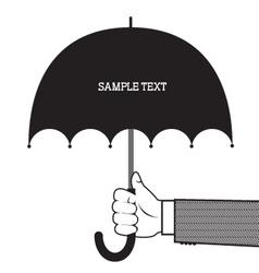 vinage advert vector image