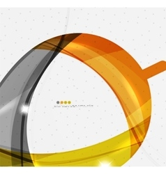 Shiny wave modern motion template vector