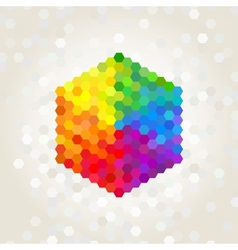 geometric figure vector image vector image