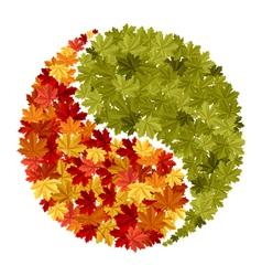 maple symbol vector image