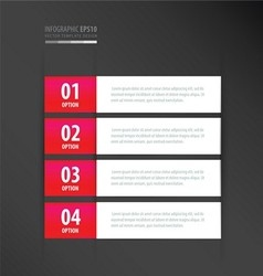 Label template neon pink vector