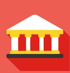 Bank icon business concept vector
