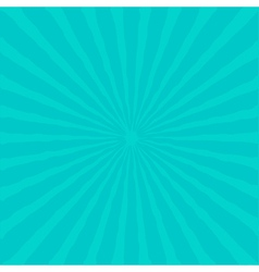 Sunburst with ray of light Blue background vector image
