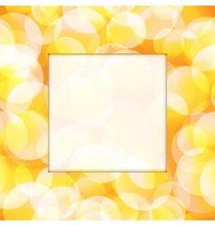 Yellow frame vector