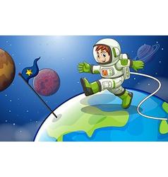 Astronaunt vector image