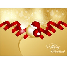 Abstract xmas card vector