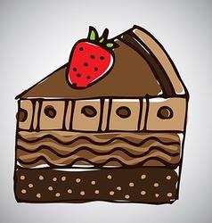 cake design vector image