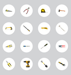 realistic sharpener stationery knife length vector image vector image