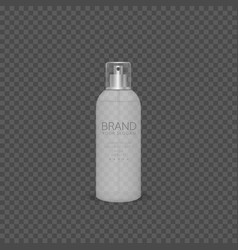 spray bottle vector image