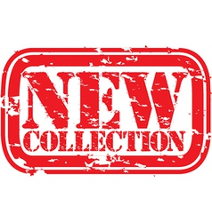 New collection stamp vector