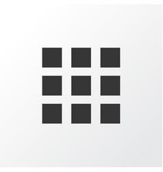Apps icon symbol premium quality isolated vector