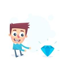 precious gem vector image