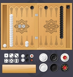 Backgammon vector