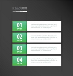Label template neon green vector