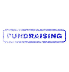 Fundraising rubber stamp vector