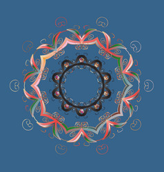 Snowflake mosaic icon symbol winter frozen vector