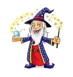 Wizard vector image vector image