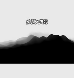 3d landscape abstract grey background gradient vector image