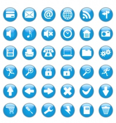 web design icons vector image