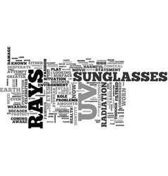 A quick guide to sunglass wear why when and where vector