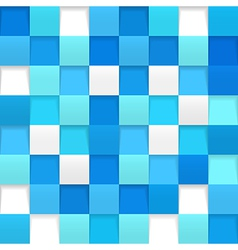 Abstract square mosaic vector image vector image