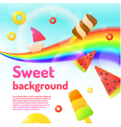 Background for a children store and creativity vector