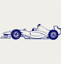 Formula 1 race vector image vector image