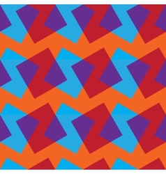 Seamless pattern with color rectangles vector