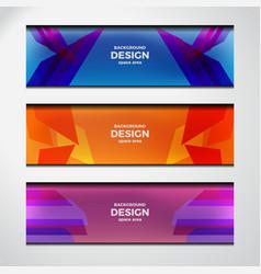 web header design vector image vector image