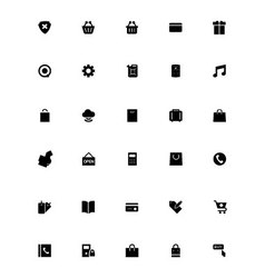 Mini icons 23 vector
