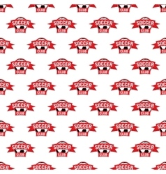 Soccer pattern seamless vector