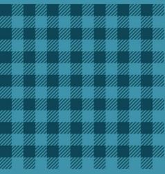 Blue lumberjack seamless pattern vector