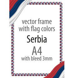 flag v14 czech republic vector image