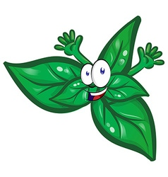 Fun basil cartoon vector