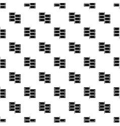 Infographic blocks on signpost pattern vector