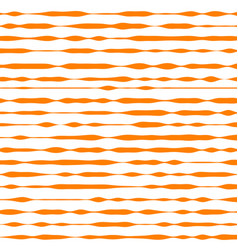 Orange and white striped background vector