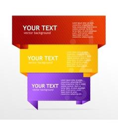 speech template vector image