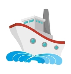 Cruise nautical ship vector