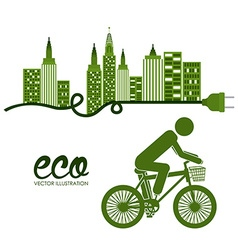 Bike lifestyle vector
