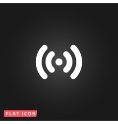 Wi-fi network icon vector