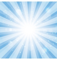 Blue Sky Hypnotic Background lllustration vector image