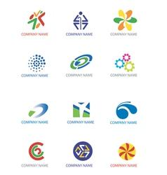 Company symbols vector