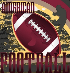 Football design poster vector