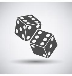 Craps Cubes Icon vector image