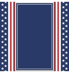 Blank abstract American background vector image vector image