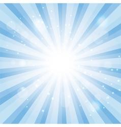 Blue sky hypnotic background lllustration vector