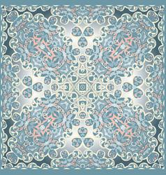 delicate colored handkerchief vector image vector image