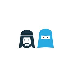 people colorful icon symbol premium quality vector image